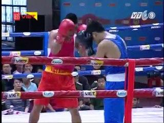Trận 1: Võ sĩ Nguyễn Văn An (Nghệ An) - Võ sĩ Đỗ Văn Tiên ( TT HLTT QG Đà Nẵng)