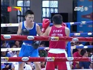Trận 4: Võ sĩ Trần Quang Thịnh (Quân khu 7) - Võ sĩ Võ Xuân Thanh ( Nghệ An)
