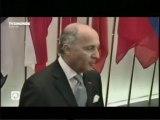 Laurent Fabius - Conseil Affaires étrangères (Bruxelles, 22/07/2013)