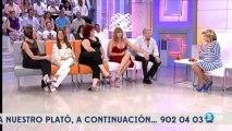 Maria Teresa Campos felicita a Terelu Campos por la audiencia