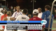 World TeamTennis Highlights: Orange County Breakers vs Sacramento Capitals July 22, 2013