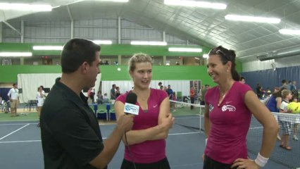 World TeamTennis Interview: Eugenie Bouchard Darija Jurak July 22, 2013