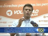 Leopoldo López: Debemos pasar de la indignación a la acción a través de la protesta cívica
