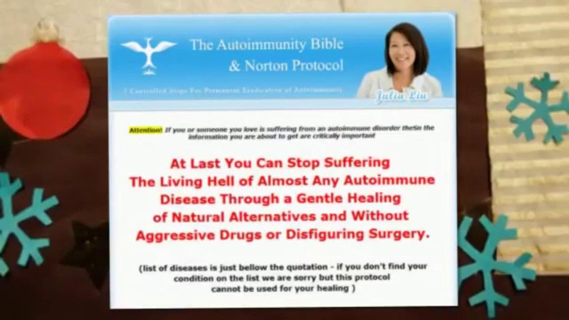 autoimmunity bible autoimmunity bible & norton protocol