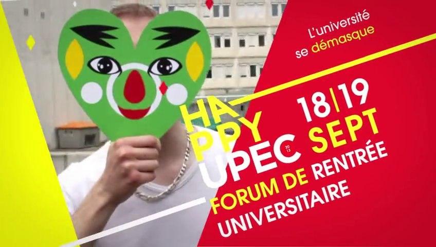 UPEC : Forum de rentrée universitaire Happy UPEC 2013