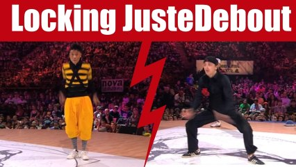 Locking dance Battle Vovan & Moroz (Ireland) vs Ducky & Jay (France) 1/2 final :