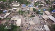 Tremblement de terre : l'armée chinoise utilise un drone pour évaluer les dégâts