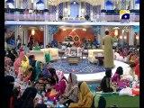 13th Iftari Hamari Iftari Part 1 in Amaan Ramazan with Aamir Liaquat 1434h 23-7-2013 -10
