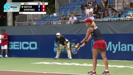 World TeamTennis Highlights: Washington Kastles vs New York Sportimes July 23, 2013
