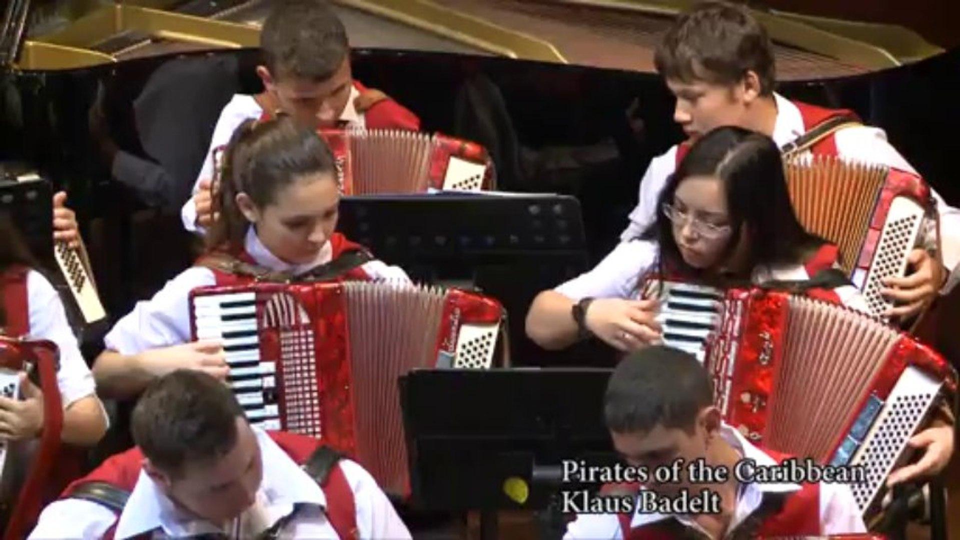 16 Victor Derenboim Accordion Orchestra-Pirates of the Caribbean