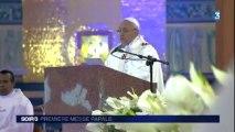 JMJ, première messe papale
