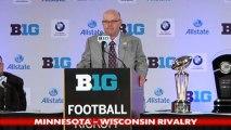 Big Ten Media Day: Minnesota's Jerry Kill