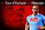 Higuain à Naples avec Jackson Martinez ? Le Tour d'Europe du mercato !