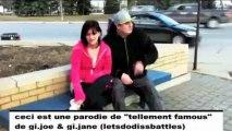 """J'bouffe tellement d'famous (parodie de gi joe et gi jane """"tellement famous"""")"""