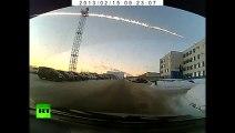 Meteorite crash in Russia Video of meteor explosion that stirred panic in Urals region - Tcheliabinsk Meteorite Blast