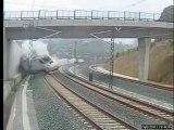 La vidéo du déraillement du train à Saint-Jacques-de-Compostelle !!!