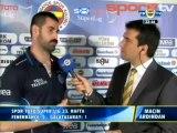 Volkan Demirel Maç Sonu Yorumu - Sabri ile Kavgası Fenerbahçe 2-1 Galatasaray 12 Mayıs 2013