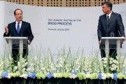 Conférence de presse lors du Sommet informel avec les chefs d'État des Pays des Balkans occidentaux
