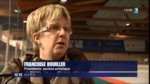 Reportage sur la situation du club de patinage d'Annecy - France 3 Alpes (4 avril 2013)