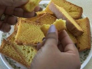 Cake Rusk Recipe in Urdu