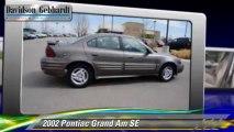 2002 Pontiac Grand Am SE - Davidson-Gebhardt Chevrolet, Loveland Denver Boulder