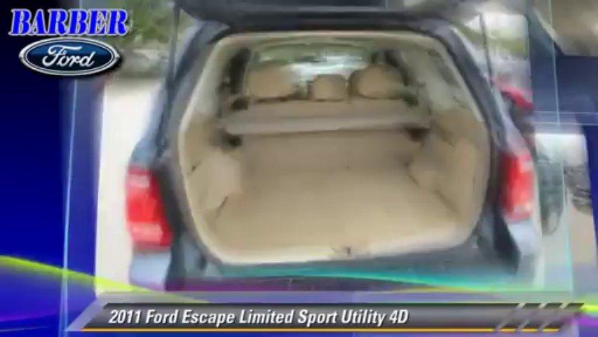 2011 Ford Escape Limited – Barber Ford, Ventura