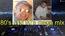 80s and 90s mega dance mix by  Steve and DJ Zaneti (extended)
