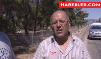 Mermer Yüklü Tır'daki Yangını İtfaiye Söndürdü haberi - TIKLA İZLE