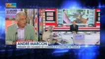 André Marcon, président des Chambres de Commerce, dans le Grand Journal - 25 juillet 3/5