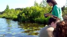 Fly IQ450 Quattro Horizon 2, тест камеры - На озере
