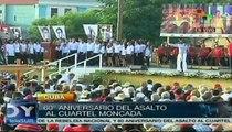 Cuba celebra el 60 aniversario del asalto al Cuartel Moncada