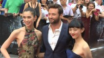 "Hugh Jackman Makes A Big Splash At ""The Wolverine"" London Premiere"