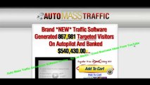Auto Mass Traffic Generation Software Review Plus Discount (Talking) -Download
