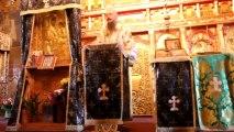 Monahul Filotheu la ultima slujba de la Petru Voda a Parintelui Justin - 21 Aprilie 2013