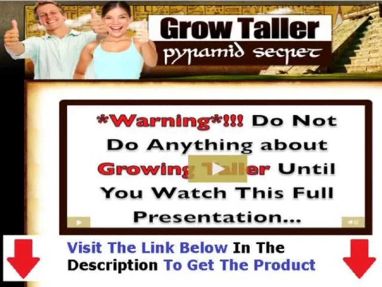 Grow Taller Pyramid Secret + Grow Taller Pyramid Secret Review