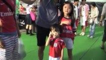 Arsenals Asientour ist zu Ende: Poldi trifft und hatte Spaß