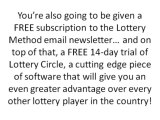Lottery Method - How to Win Lottery Tips by Ex-Lotto Retailer - Part 2