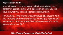 Text Your EX Back Text Messages | Text Your EX Back Texts