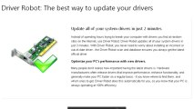 Driver robot 2.5.4.2 rev 232e3 + Windows 7 drivers update
