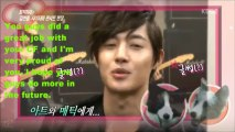 (HD) SS501 KIM HYUN JOONG (Eng Sub) INTERVIEW (1-19-13)