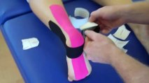 Kinesiology Taping for Plantar Fasciitis / heel spur / foot pain