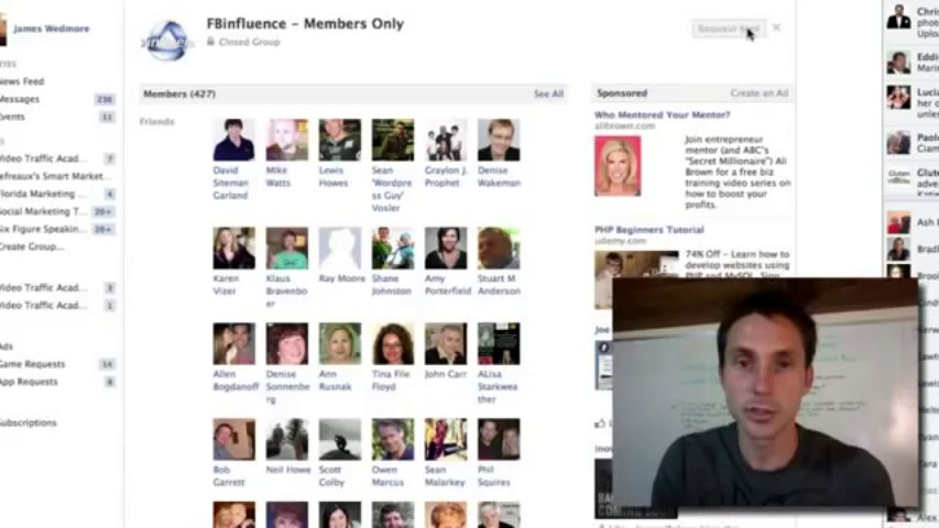 FB Influence Inside Members Area Review Facebook FB Influence Business Fan Page Marketing