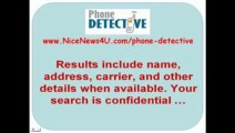 Phone Detective   Reverse Phone Lookup   Cell Phone Number Search   Warning! Must SEE!   YouTube2