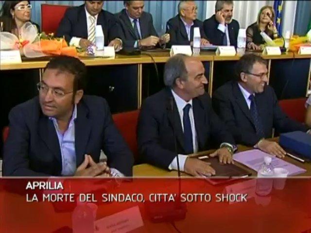 MORTE SINDACO APRILIA