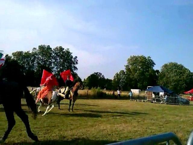 Spectacle équestre  à Auxonne (21) les 27 et 28 juillet 2013