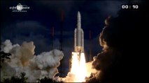 [Ariane 5] Launch of Mighty Ariane 5 Rocket with Alphasat and Insat-3D
