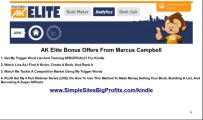 AK Elite Bonus Offer From Marcus - YOU NEED THIS