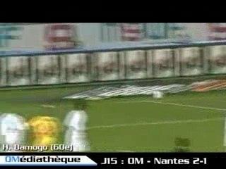 L1, Saison 05/06: OM - Nantes