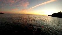 Coucher du soleil - Nouméa, Baie des Citrons
