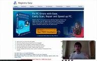 Registry Easy FREE PC Scan - Speed Up & Repair PC. Registry Easy SCAM?